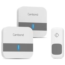 Cambond Waterproof Wireless Doorbell Kit