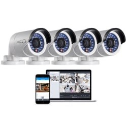 Oco Pro Bullet 1080p Security Camera 4-Pack
